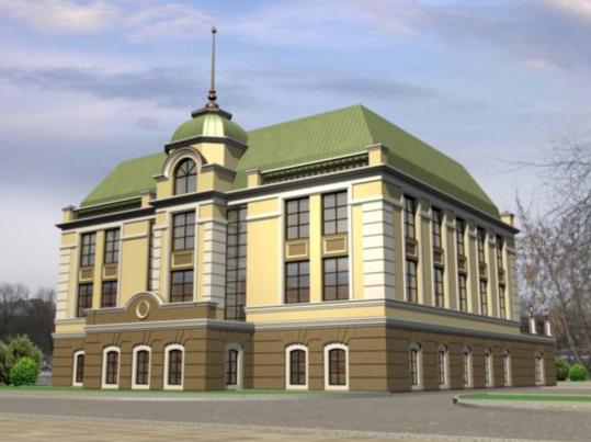 Реконструкция дома №20 по ул. Горького под ресторан