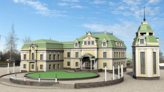 Реконструкция дома №14а по ул. Горького под ресторан